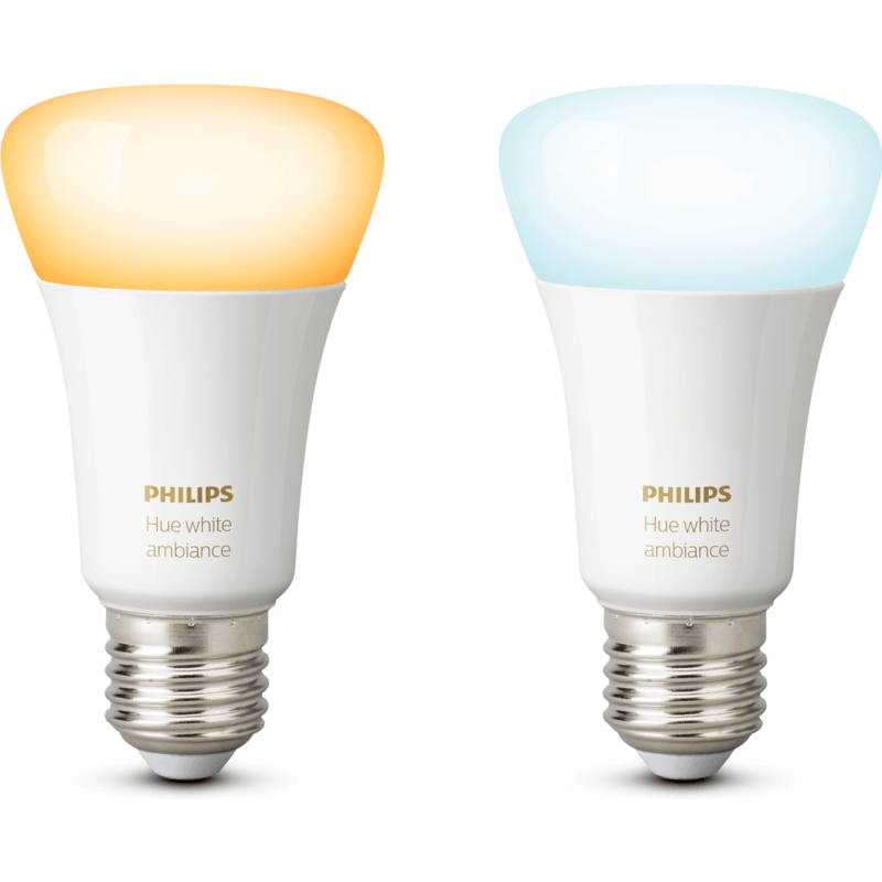 philips hue white ambiance e27 duopack smart lampen kopen. Black Bedroom Furniture Sets. Home Design Ideas