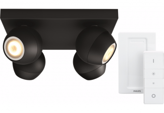 Philips Hue Buckram 4-Spot Zwart met Dimmer online kopen?