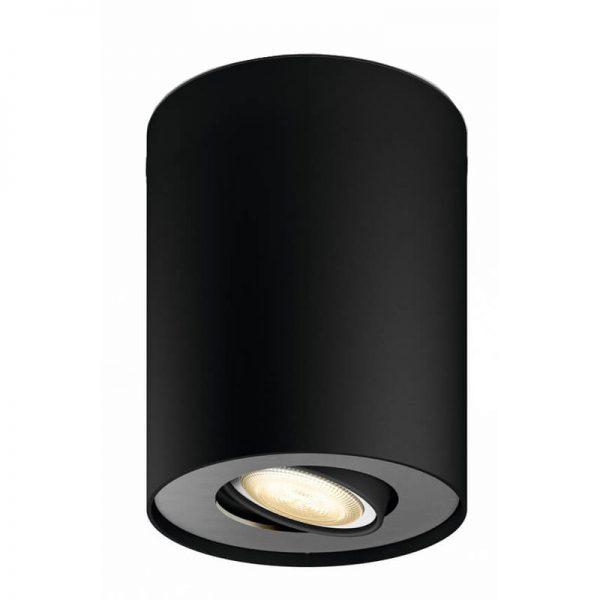 Philips Hue Pillar Extra Single Spot Zwart online kopen?