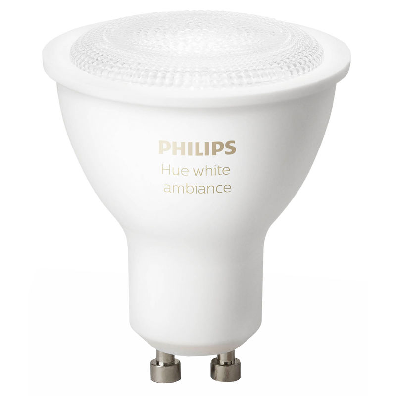 philips hue white ambiance gu10 single pack smart lampen. Black Bedroom Furniture Sets. Home Design Ideas