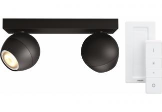 Philips Hue Buckram 2-Spot Zwart met Dimmer online kopen?