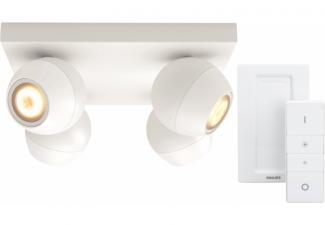 Philips Hue Buckram 4-Spot Wit met Dimmer online kopen?