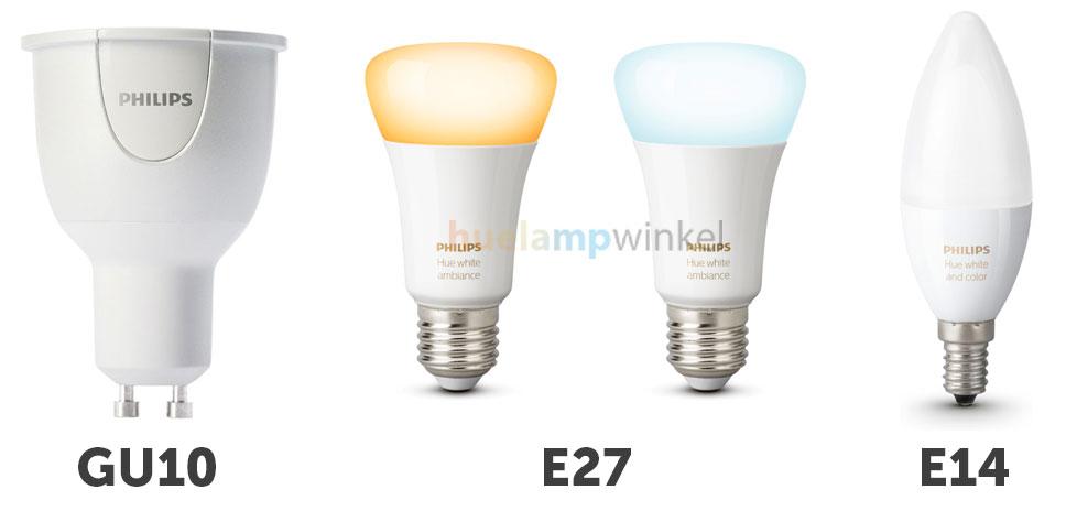 Philips Hue Lampen Gu10.Wat Is Een Fitting En Welke Philips Hue Lampen Onderscheiden We